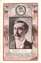 fap001002 - Robert peary Famous American Series, Postcard Post Card