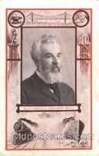 fap001007 - Alexander Graham Bell Famous American Series, Postcard Post Card