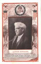 fap001011 - Luther Burbank Famous American Series, Postcard Post Card