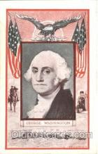 fap001013 - George Washington Famous American Series, Postcard Post Card
