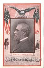 fap001014 - Robert Edmund Lee Famous American Series, Postcard Post Card