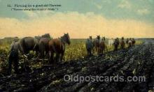 far001066 - Farming Postcard Post Card