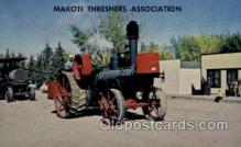 far001078 - Makoti Threshers Association, ND Farming Postcard Post Card