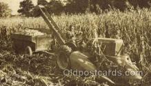 far001085 - Corn Harvester Farming Postcard Post Card