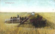 far001101 - Harvesting Farming, Farm, Farmer, Postcard Postcards