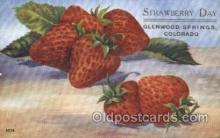 far001124 - Strawberry Farming, Farm, Farmer, Postcard Postcards