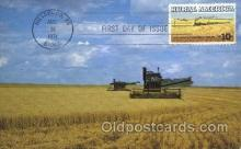 far001129 - Harvesting Farming, Farm, Farmer, Postcard Postcards