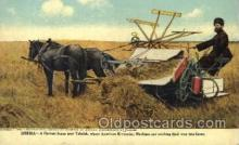 far001133 - Harvesting Farming, Farm, Farmer, Postcard Postcards