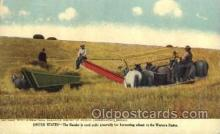 far001148 - United State, Harverting Farming, Farm, Farmer, Postcard Postcards