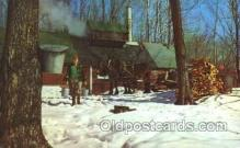 far001152 - Maple Suger Vermont Farming, Farm, Farmer, Postcard Postcards