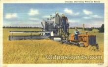 far001154 - Harvesting Wheat Farming, Farm, Farmer, Postcard Postcards