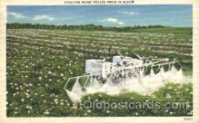 far001163 - Spraying Farming, Farm, Farmer, Postcard Postcards