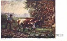 far001168 - Fall Ploughing Farming, Farm, Farmer, Postcard Postcards