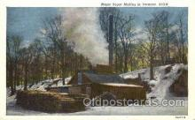 far001174 - Maple Suger Vermont Farming, Farm, Farmer, Postcard Postcards