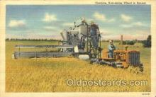far001202 - Harvesting Wheat Farming, Farm, Farmer, Postcard Postcards