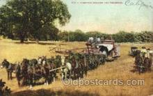 far001211 - Combined Header and Thresher, California Farming, Farm, Farmer, Postcard Postcards