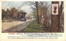 far001212 - Steam Roller Farming, Farm, Farmer, Postcard Postcards