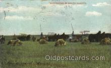 far001220 - Harvesting in South Dakota Farming, Farm, Farmer, Postcard Postcards
