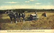 far001229 - England- Harvesting the crops Farming, Farm, Farmer, Postcard Postcards