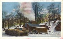 far001256 - Maple Suger,Vermont Farming, Farm, Farmer, Postcard Postcards