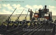far001261 - Steam Breaking Farming, Farm, Farmer, Postcard Postcards