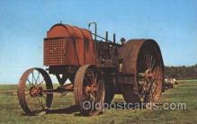 far001268 - Farm Machine Farming, Farm, Farmer, Postcard Postcards