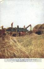 far001271 - Harvesting Wheat Farming, Farm, Farmer, Postcard Postcards