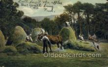 far001296 - Farming Old Vintage Antique Postcard Post Card