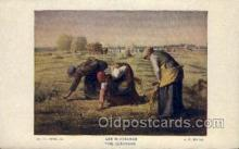 far001307 - Artist Jean Francois Millet Farming Old Vintage Antique Postcard Post Card