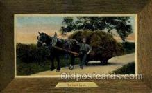 far001314 - The Last Load Farming Old Vintage Antique Postcard Post Card