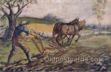 far001315 - Farming Old Vintage Antique Postcard Post Card