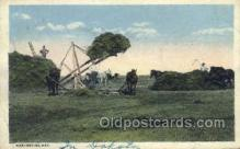 far001332 - Harvesting Day Farming Old Vintage Antique Postcard Post Card