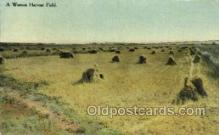 far001343 - Western Harvest Field Farming Old Vintage Antique Postcard Post Card