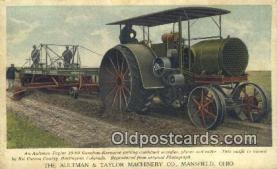 far001407 - Aultman & Taylor Machinery Co Farming Postcard Post Card