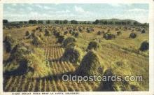 far001416 - Wheat Field Farming Postcard Post Card