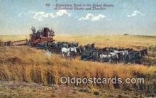 far001417 - Harvesting Farming Postcard Post Card