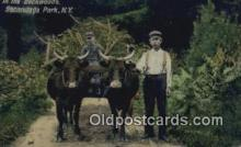 far001421 - Backwoods Farming Postcard Post Card