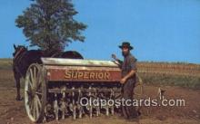 far001476 - Amish Country Farming Postcard Post Card