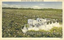 far001485 - Spraying Maine Potato Field Farming Postcard Post Card