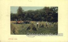 far001493 - Autumn Time Farming Postcard Post Card