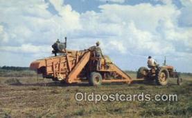 far001499 - Mechanical Peanut Picker Farming Postcard Post Card