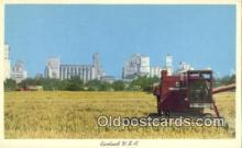 far001503 - Rice Harvesting Farming Postcard Post Card