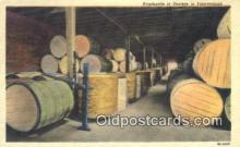 far001509 - Hogsheads in Storage Farming Postcard Post Card