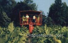 far001523 - Housing Smoke Leaf, Modern Tobacco Harvester Farming Postcard Post Card