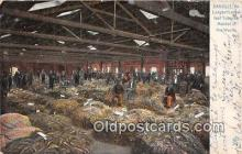 far001578 - Largest Looseleaf Tobacco Market Danville, VA, USA Postcards Post Cards Old Vintage Antique