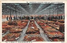 far001583 - Southern Loose Leaf Tobacco Warehouse Winston Salem, NC, USA Postcards Post Cards Old Vintage Antique