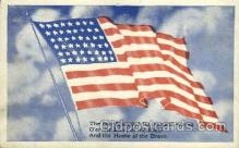 fgs001003 - Flag, Flags Postcard Post Card