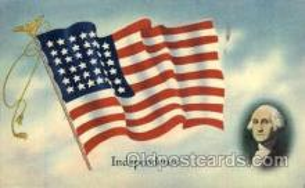 fgs001007 - Flag, Flags Postcard Post Card
