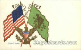 fgs001010 - Flag, Flags Postcard Post Card