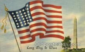 fgs001016 - Flag, Flags Postcard Post Card